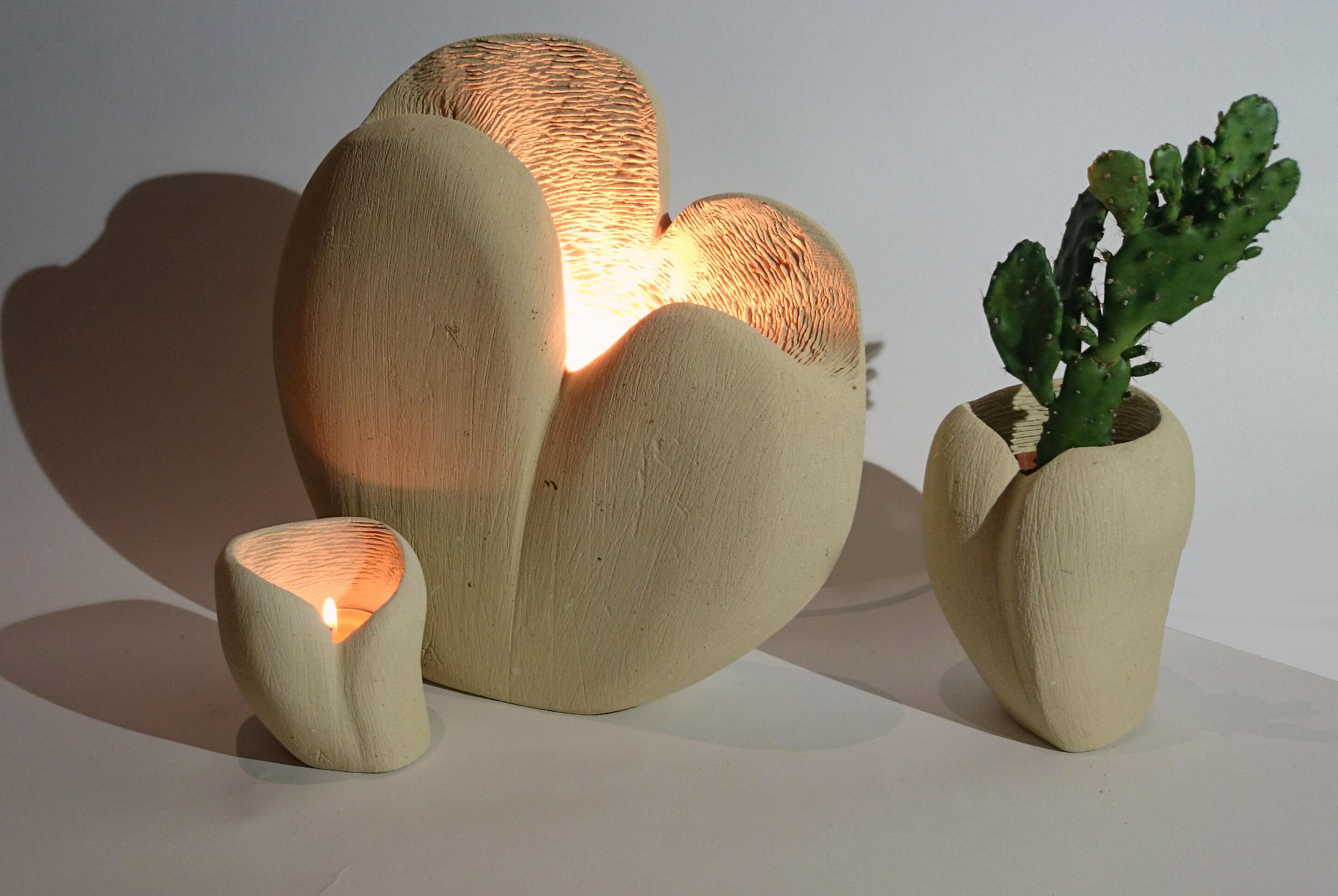 Cuore_lampada,porta candele e porta piante