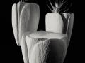 Tulipano_ portapiante_porta candele_nero_4