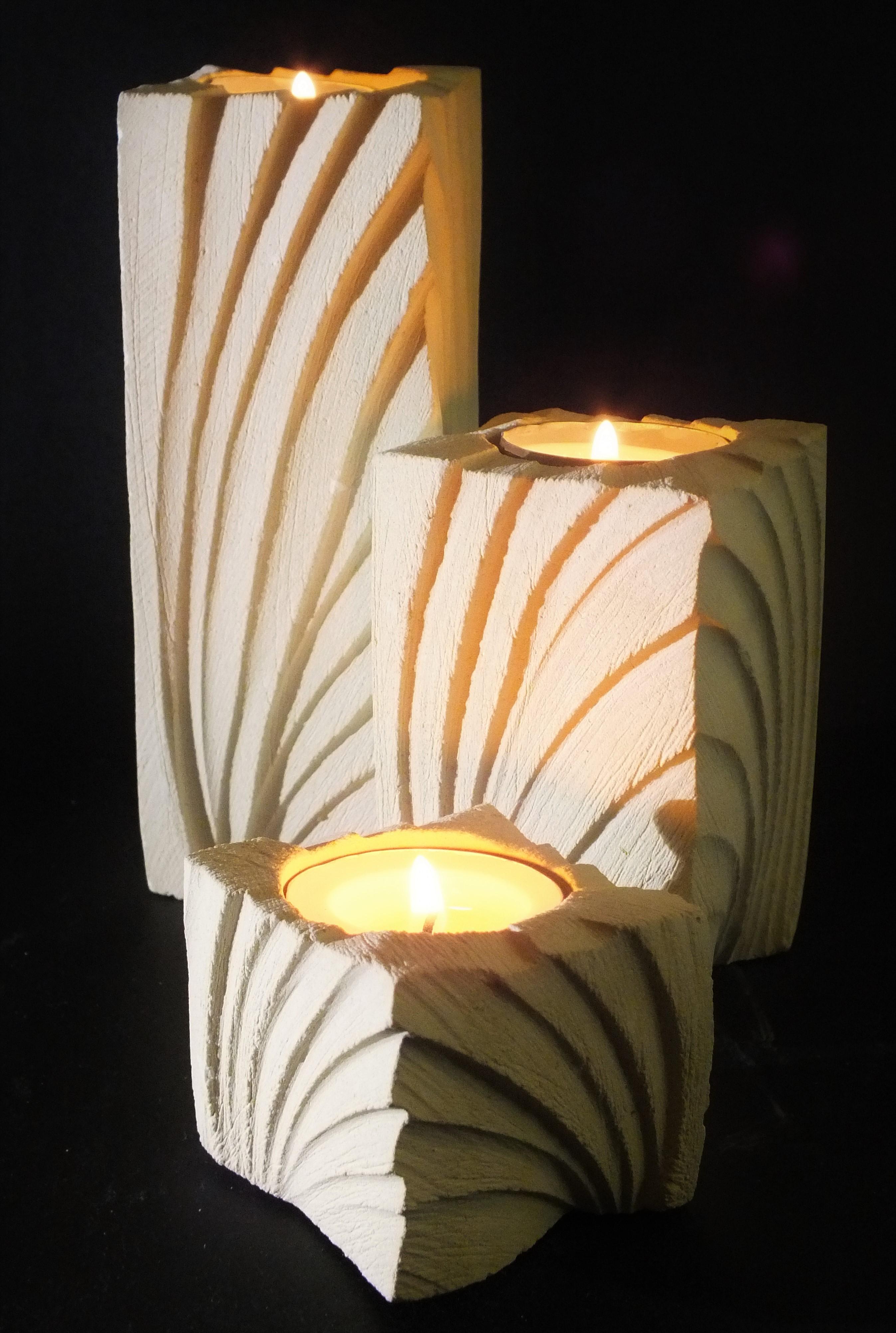 Ventaglio_porta candele_tris_nero