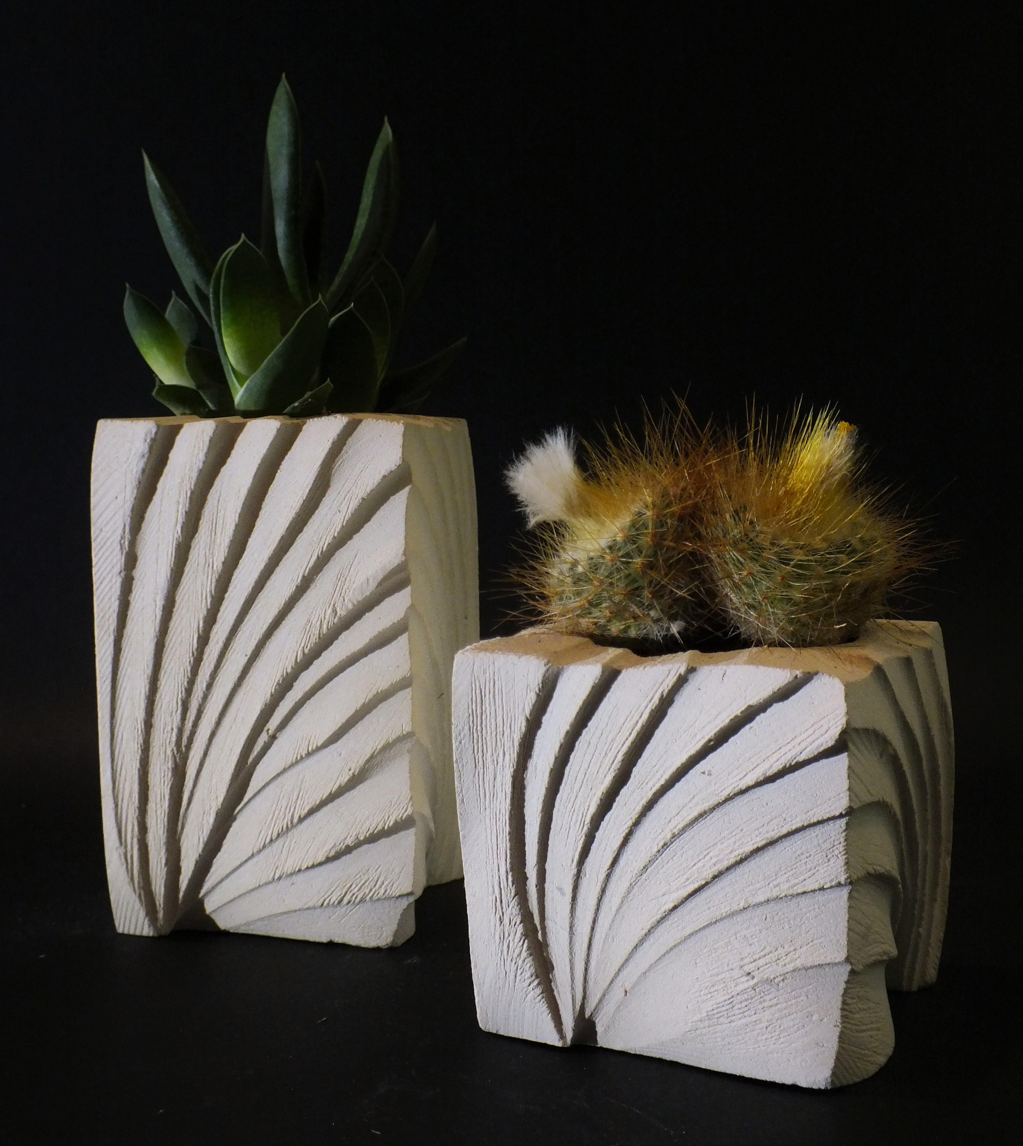 Ventaglio_porta piante_coppia_nero