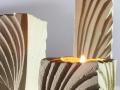 Ventaglio_porta candele_tris_dettaglio_bianco