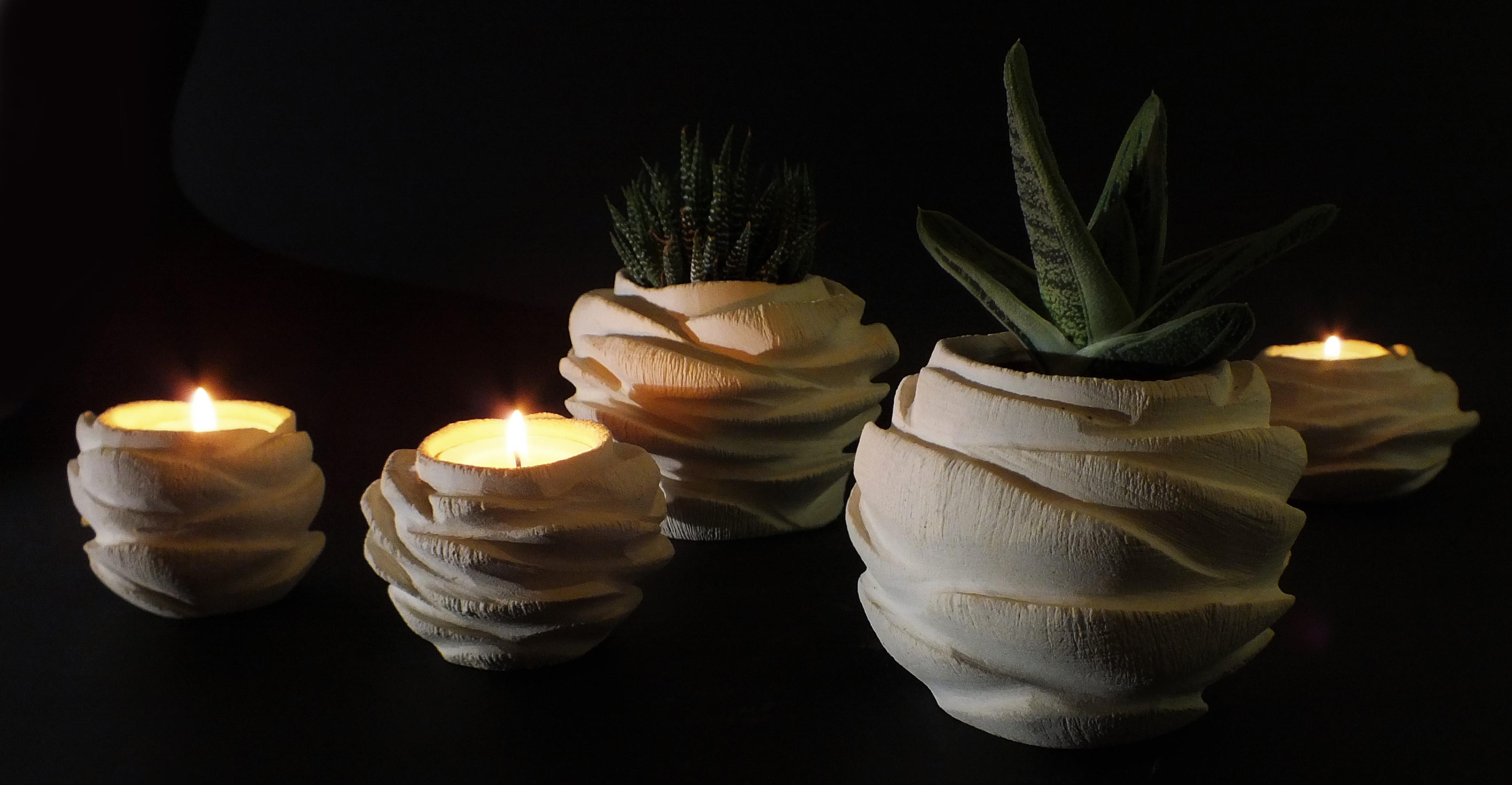Rosa_porta candele_porta piante