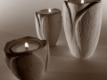 Tupilano_porta candele_tris_bianco nero