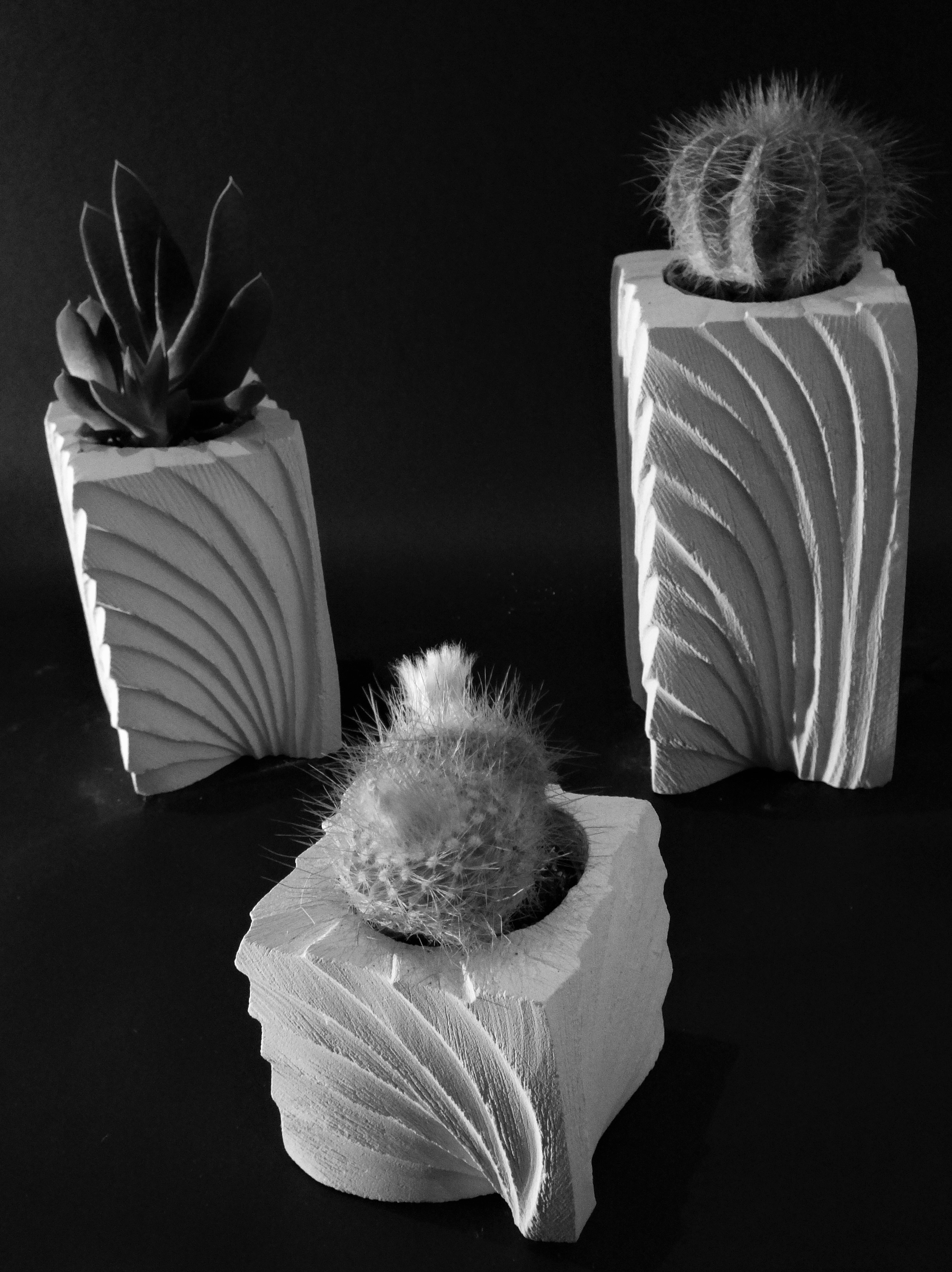 Ventaglio_porta piante_tris_bianco e nero